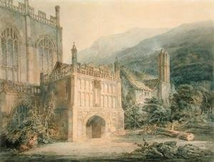 Turner - Porch of Great Malvern Abbey