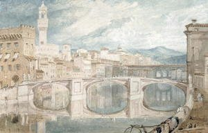 Turner - Florence from the Ponte alla Carraia