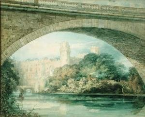 Turner - Warwick Castle and Bridge