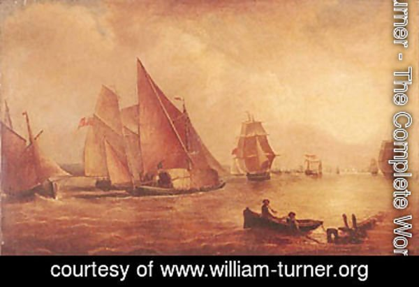 Turner - Estuary of the Thames and the Medway
