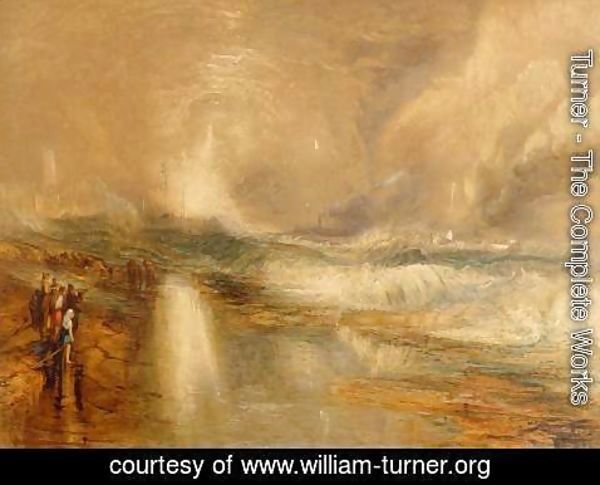 Turner - Rockets and Blue Lights, 1855