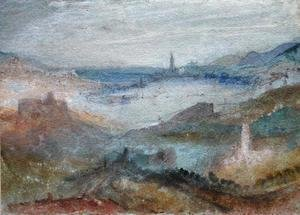 Turner - Extensive View of a Lake