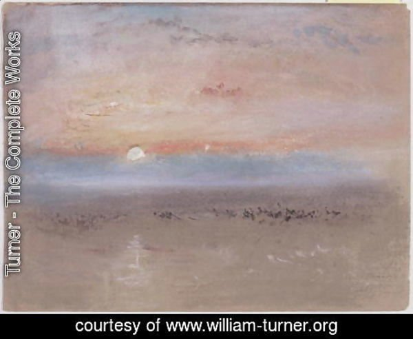 Turner - Sunset, c.1830