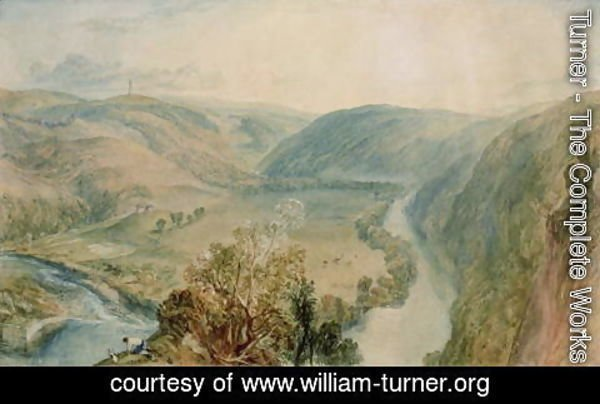 Turner - Gibside, County Durham from the North
