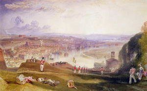 Turner - Chatham, Towards Fort Pitt
