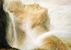Turner - Upper Falls of the Reichenbach