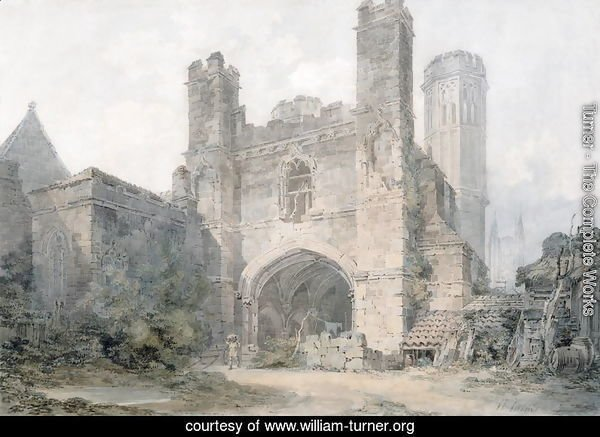 St. Augustines Gate, Canterbury, c.1797