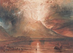 Turner - Mount Vesuvius in Eruption, 1817