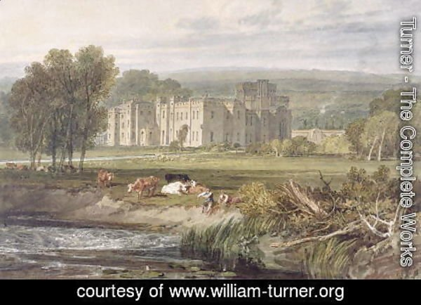 Turner - View of Hampton Court, Herefordshire, from the south-east, c.1806