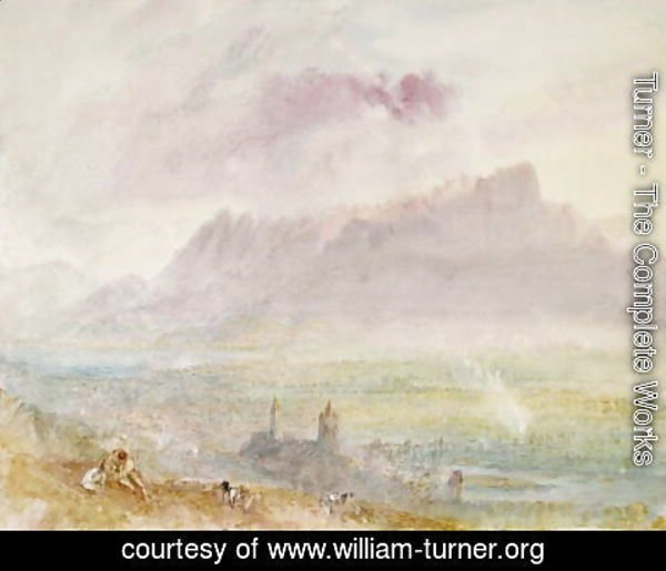 Turner - Lake Thun, c.1838