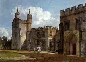 The Bishops Palace, Salisbury, c.1795