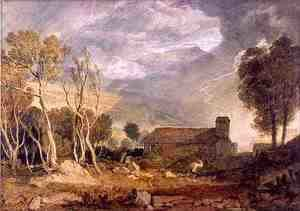 Turner - Patterdale Old Church, c.1810-15