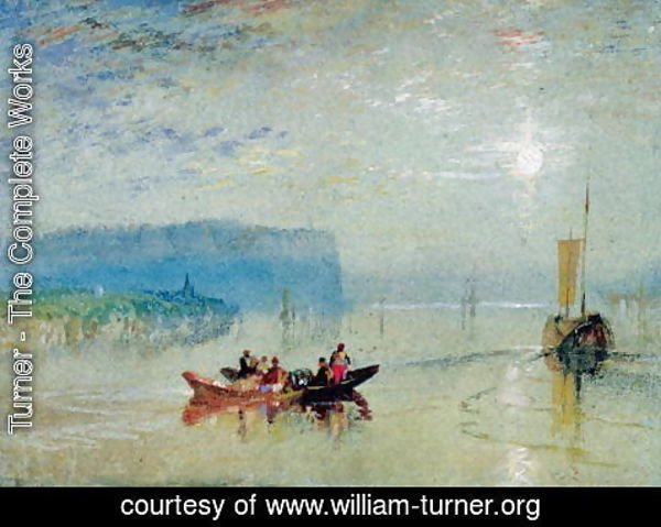 Turner - Scene on the Loire, near the Coteaux de Mauves, c.1830