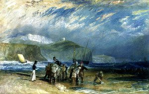 Turner - Folkestone Harbour and Coast to Devon, c.1830
