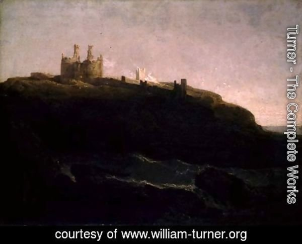 Turner - Dunstanborough Castle, Sunrise after a Squally Night, 1798
