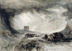 Turner - The Passage of Mount Cenis