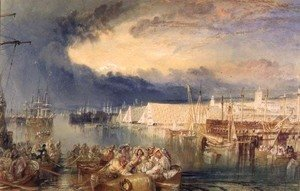 Turner - The Dockyard, Devonport, c.1825-29