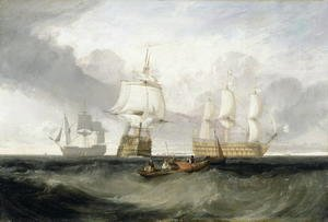 Turner - The Victory Returning from Trafalgar, 1806