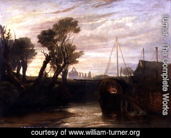 Turner - Newark Abbey, 1807