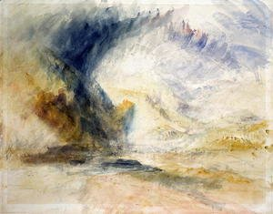 Turner - Mount St Gothar