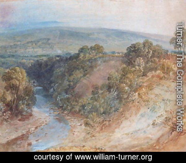 Turner - Valley of the Washburn, 1818
