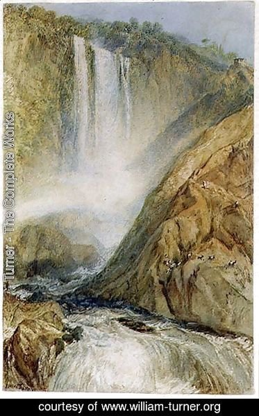 Turner - The Falls of Terni, 1817
