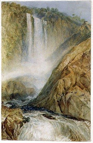 The Falls of Terni, 1817