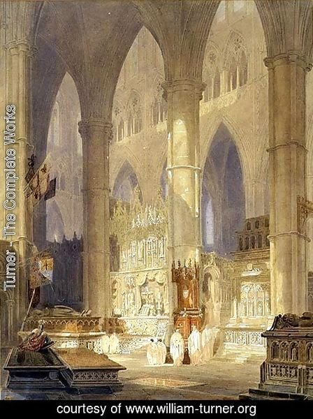 Turner - Caen Cathedral