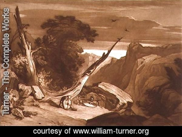 Turner - From Spenser's 'Fairy Queen', from the Liber Studiorum, engraved by T. Hodgetts, 1811