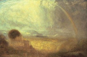 Turner - Landscape with a rainbow