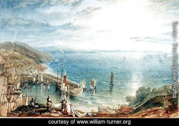No.1790 Torbay from Brixham, c.1816-17