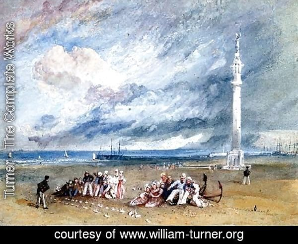 Turner - Yarmouth Sands, c.1824-30