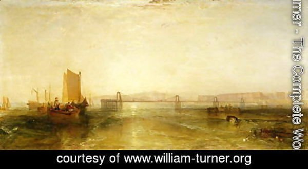 Turner - Brighton from the Sea, c.1829