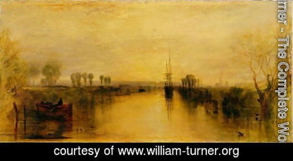 Turner - Chichester Canal, c.1829
