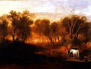 Turner - The Forest of Bere, c.1808