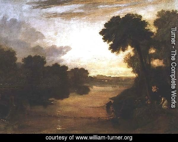 The Thames near Windsor, c.1807