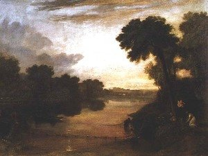 Turner - The Thames near Windsor, c.1807