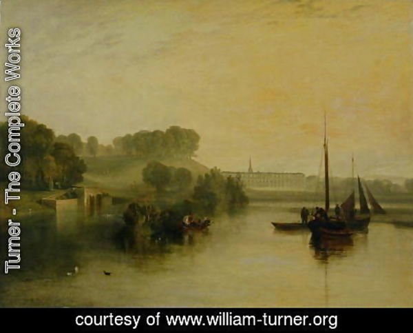 Turner - Petworth, Sussex, the Seat of the Earl of Egremont Dewy Morning, 1810
