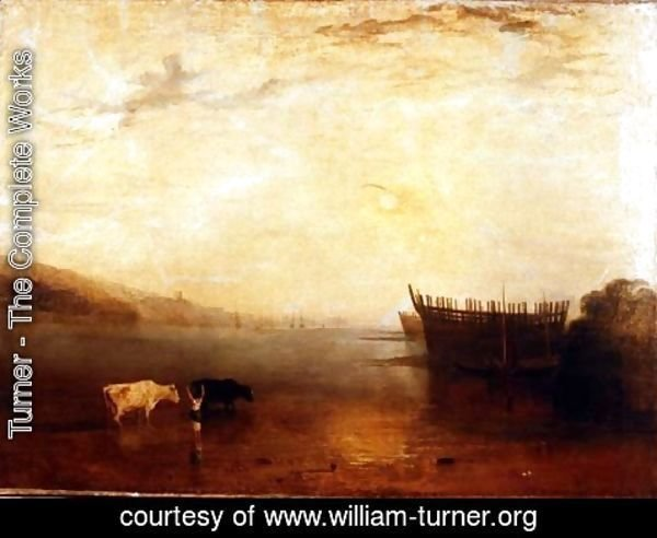 Turner - Teignmouth Harbour, c.1812