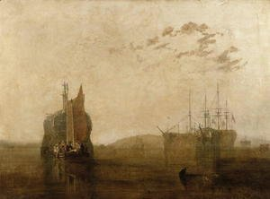 Turner - Hulks on the Tamar, c.1812