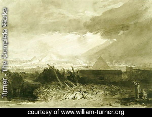 Turner - The Fifth Plague of Egypt, 1806-10