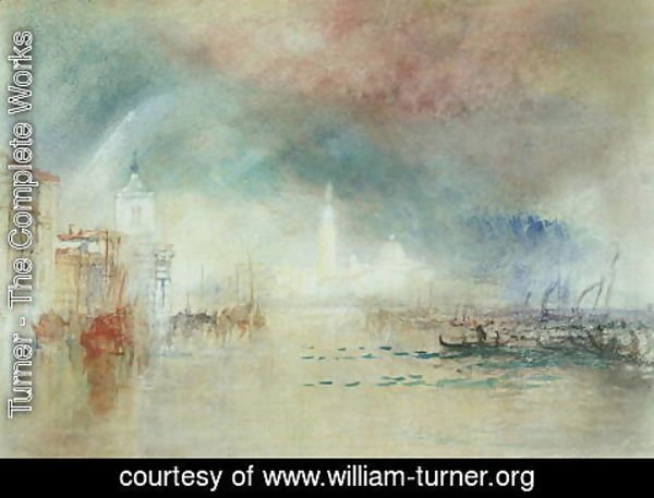 Turner - View of Venice from La Giudecca