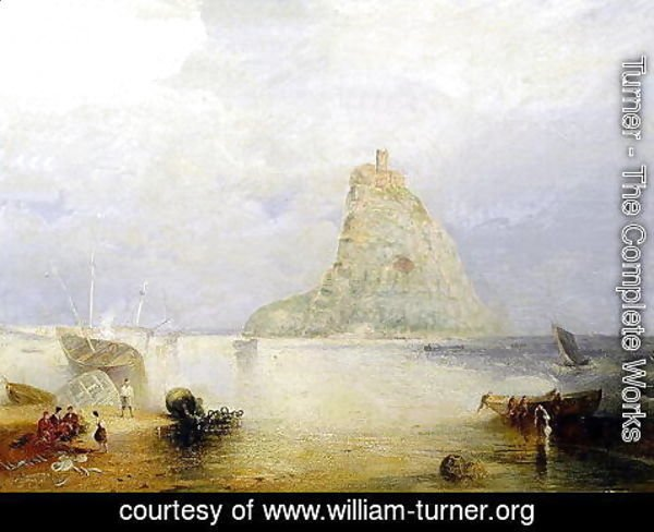 Turner - St. Michaels Mount, Cornwall, 1834