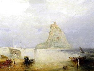 St. Michaels Mount, Cornwall, 1834