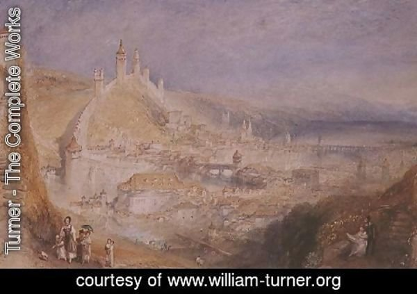 Turner - Lucerne from the Walls, c.1841