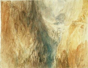 Turner - The Devils Bridge, St. Gotthard, c.1841