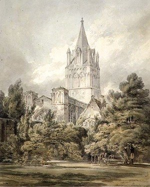 Turner - Christ Church, Oxford, 1794