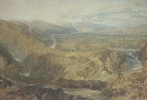 Turner - The Crook of Lune, looking towards Hornby Castle, 1816-18