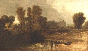 Turner - Ladye Place, Hurley-on-Thames
