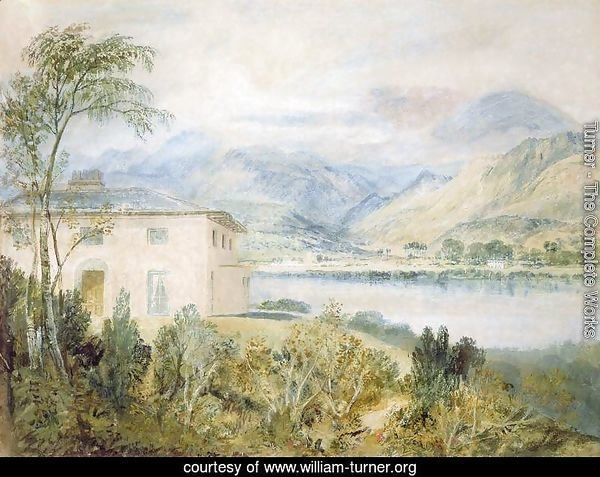 Tent Lodge, by Coniston Water, 1818